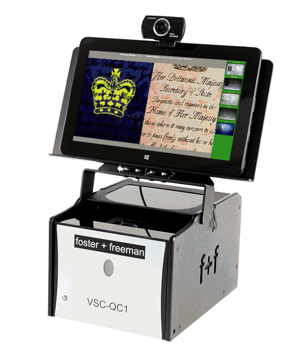 Compact Travel Document Scanner