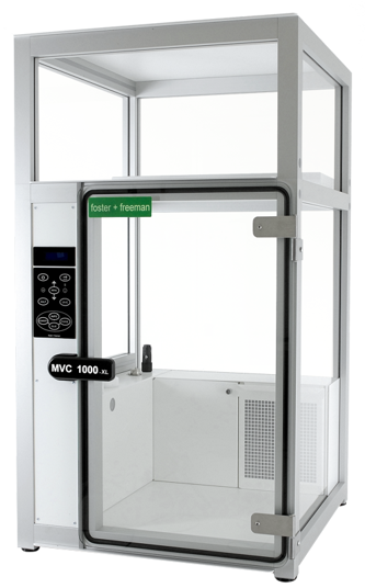 MVC1000-XL-fingerprint fuming chamber