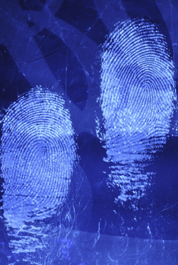 Polycyano fingerprints