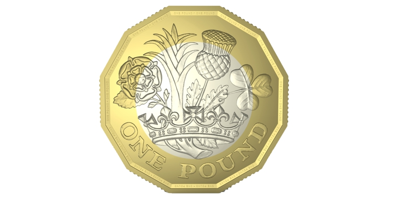 new 12-sided pound coin