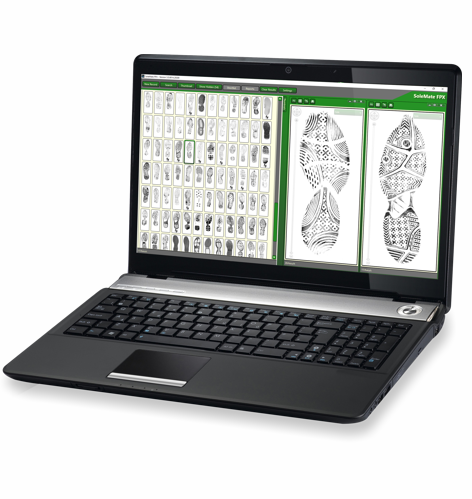 SoleMate FPX footwear identification system
